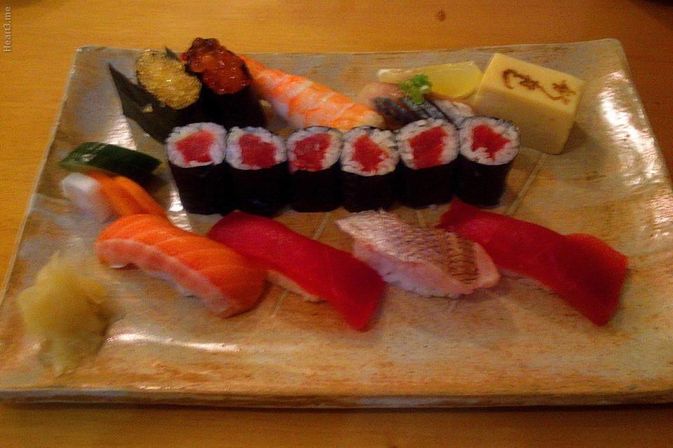 Sushi especial para 1 pessoa - Shin Zuzhi