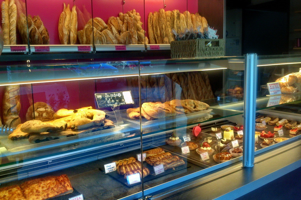 Boulangerie em Arles.