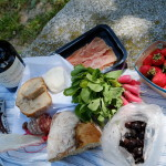 Piquenique em Glanon - Saint-Remy-de-Provence