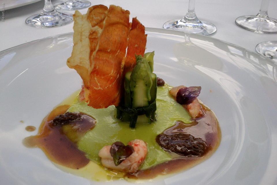 La Cabro d´Or, em Les-Baux-de-Provence. Não honra a estrela do Michelin.