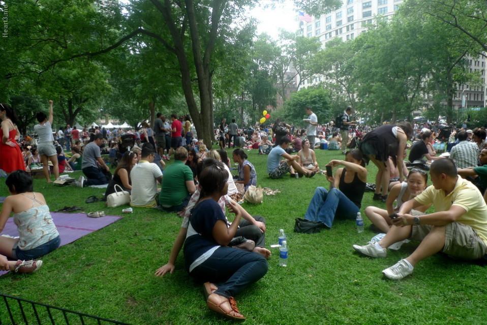 Block Party  na Eleven Madison Square - jun/12
