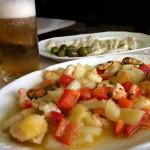 Pratos típicos de qualquer boteco espanhol