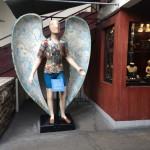 Decoração, o anjo viajante