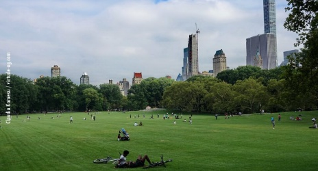 Manhattan – NY: Central Park e um pouco de street, jul/17