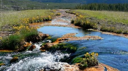 EUA – Yellowstone, Central Park – Onde